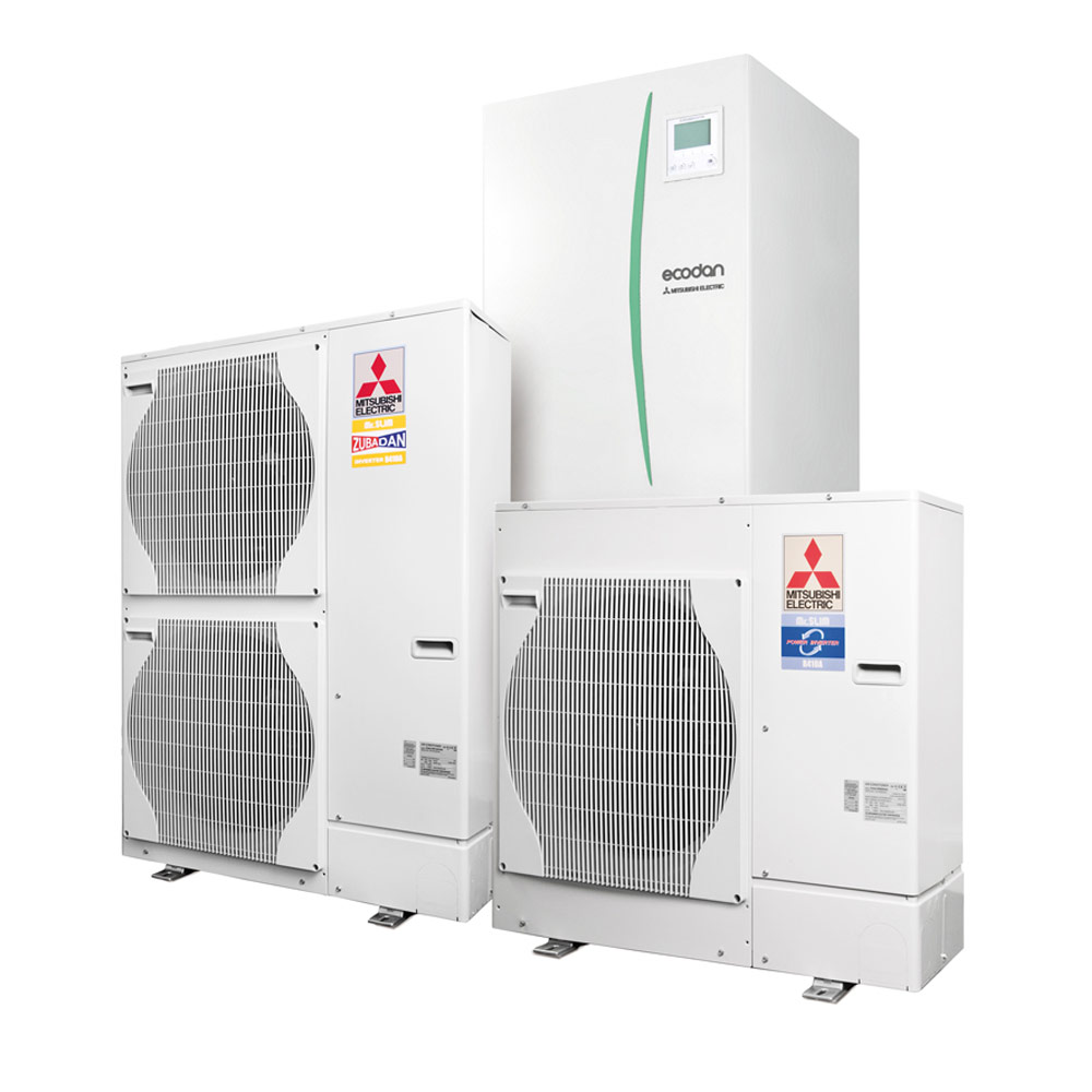 Mitsubishi Electric EcoDan ilmavesilämpö-järjestelmät