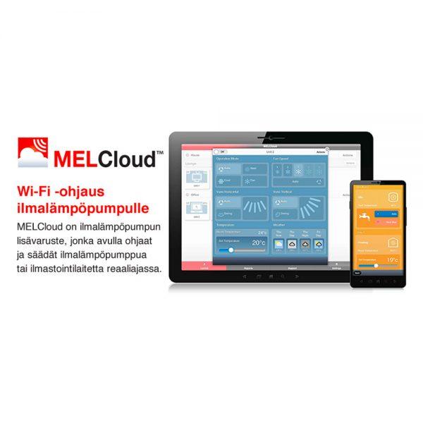 MELCloud WiFi-ohjaus ilmalämpöpumpuille