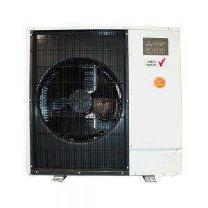 Mitsubishi Electric energiansäästäjä ilmavesilämpöpumppu