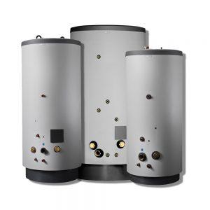 Nibe 500-1000 VPB lämminvesivaraajat