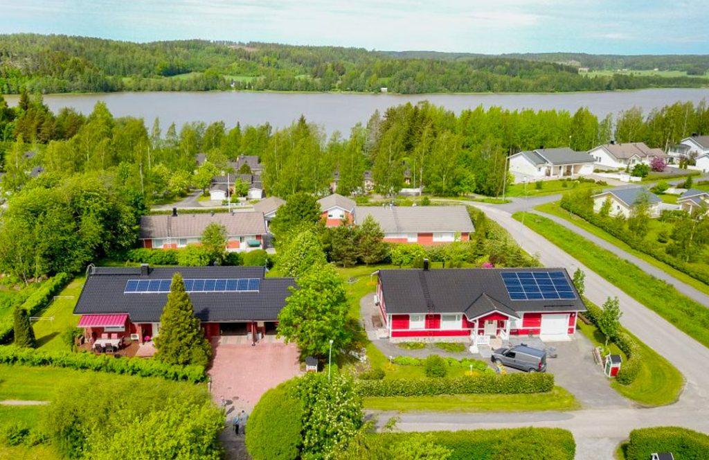 Aurinkoenergia omakotitaloon: Salo, Muurla