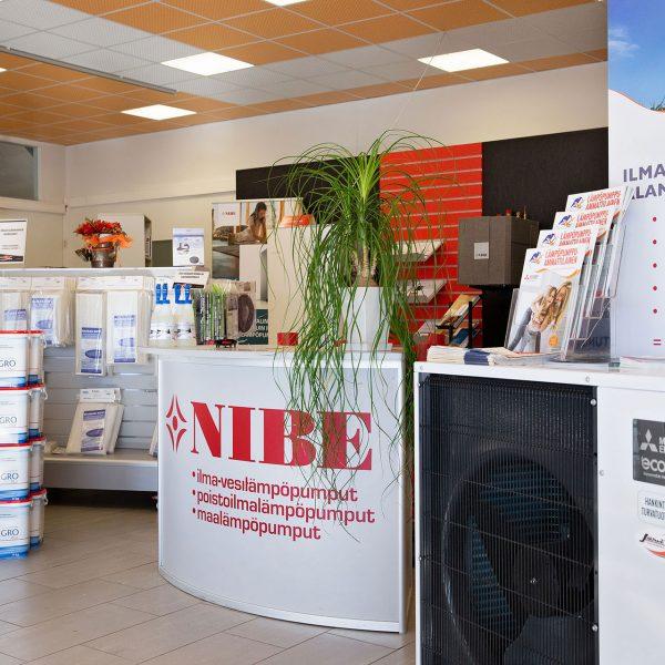 Energiatalo Järvi: Myymälä: Salo